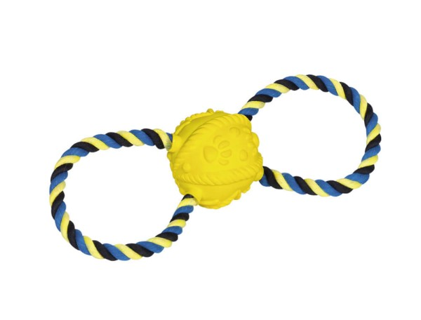 Nobby Latex Ball mit Seil 31cm
