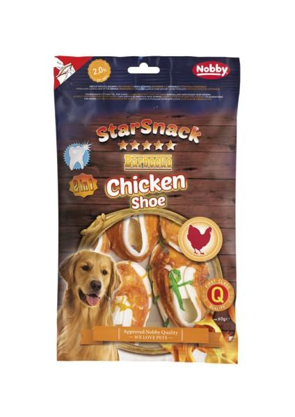 Nobby STARSNACK BBQ Chicken Shoe 60g