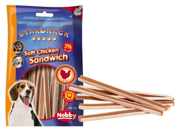 Nobby STARSNACK Soft Chicken Sandwich für Hunde