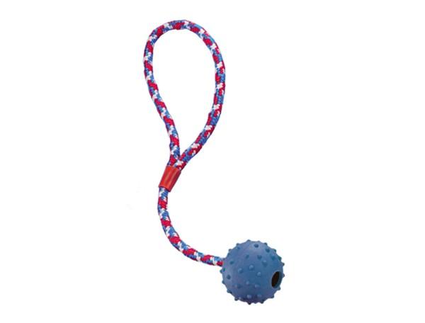 Nobby Rubber Line Ball mit Glocke und Seil