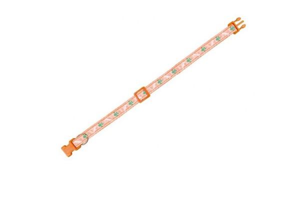 "Nobby Halsband ""Mini"" orange L: 20-35cm"