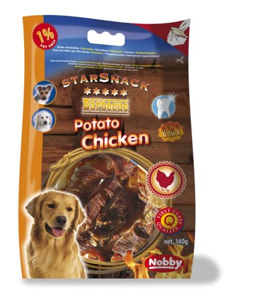 Nobby STARSNACK BBQ Potato Chicken 5 - 9cm, 140g