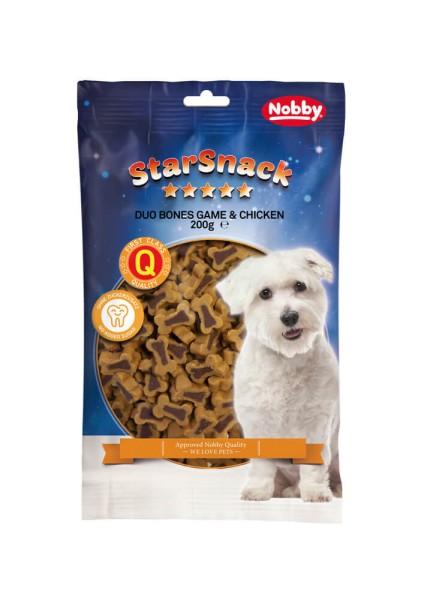 """Nobby StarSnack Duo Bones """"Game & Chicken"""""""