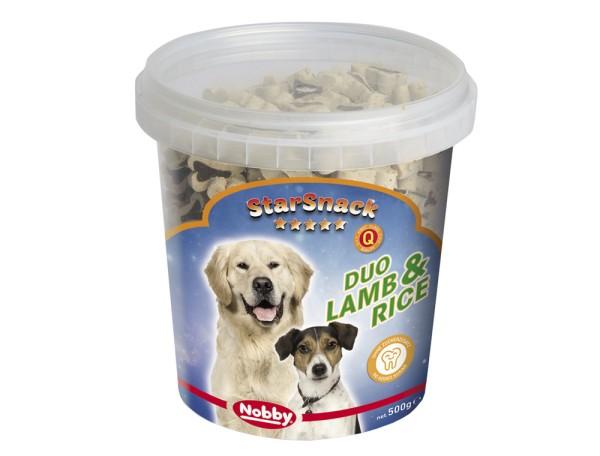 """Nobby StarSnack Duo Bones """"Lamb & Rice"""""""