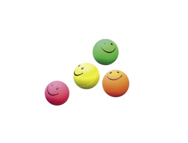 Nobby Moosgummi Smiley Bälle