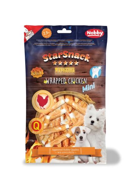 Nobby STARSNACK BBQ MINI Wrapped Chicken