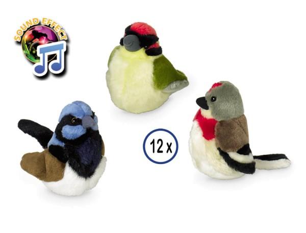 Nobby Plüsch Vögel mit Sound, Zufallsartikel