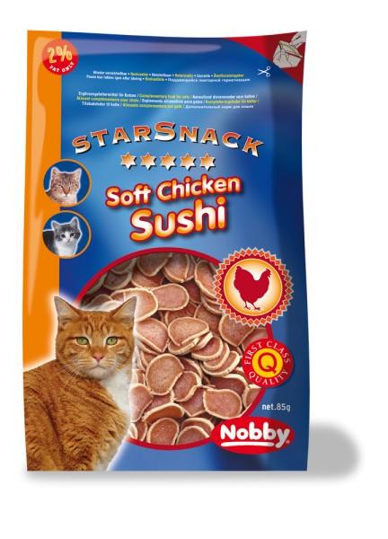 Nobby StarSnack Soft Chicken Sushi für Katzen 85g