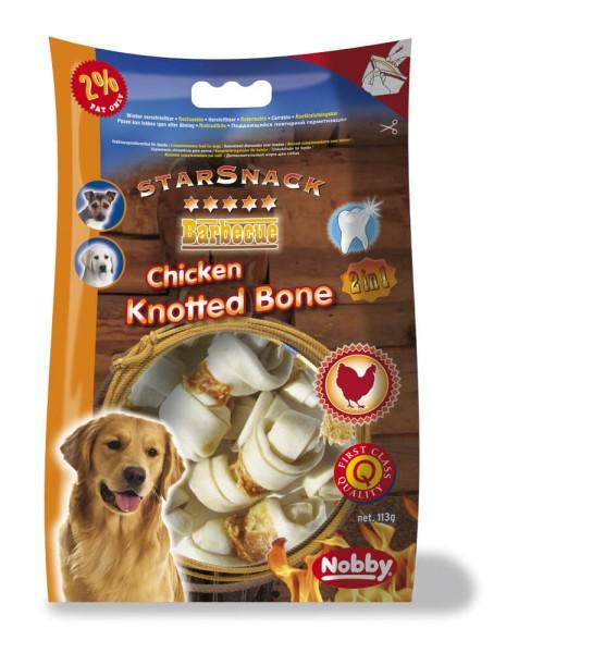 Nobby STARSNACK BBQ Chicken Knotted Bone